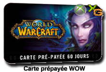 carte prepayee wow